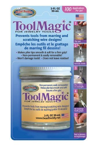Tool Magic - Rubber Coating for Jewelry Tools 2 fl oz by Bead Buddy -
