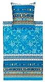 bassetti Bettwäsche ponza V3 blau 135x200 cm neue Kollektion in