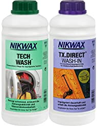 Vaude Nikwax Tech Wash Lessive TX Direct 2x 1L vpe3, transparent, 2, 30341