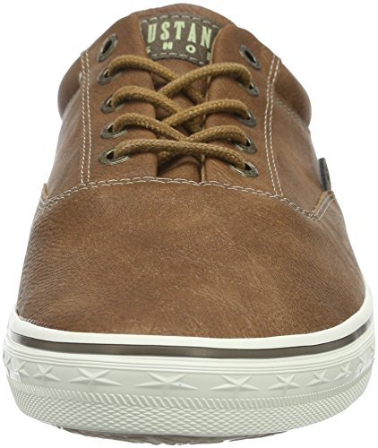 Mustang 4103-302-301, Chaussures De Sport Basses Pour Homme Brown (kastanie)