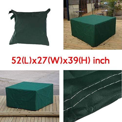Yongse 134x70x99cm Meubles de jardin Outdoor Imperméable Respirant Dust Cover Table Shelter