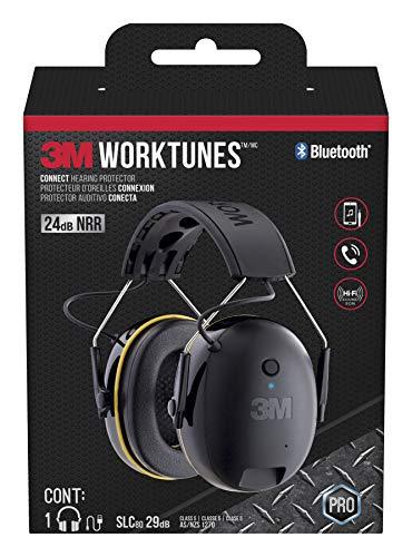 """3M Bluetooth""""seulement"""" Snr 24dB Casque Protecteurs Oreilles Protecteurs Auditifs Oreille"""