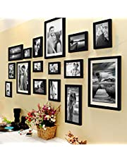 Painting Mantra Art Street Set Of 16 Individual Photo Frame,(3 Units Of 8X10, 4 Units Of 6X8, 4 Units Of 5X7, 3 Units Of 4X6, 2 Units Of 6X10)