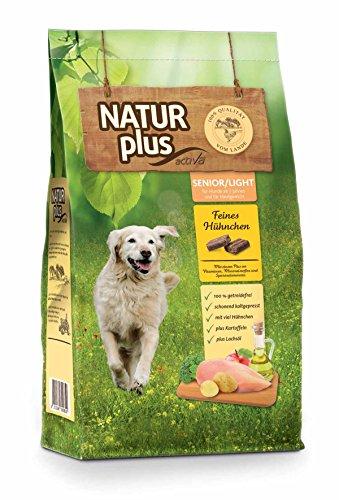 Natur Plus Trockenfutter Hundefutter Senior/Light (getreidefrei) (12 kg)