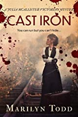 Cast Iron: You can run but you can't hide... (Julia McAllister Victorian Mysteries) Paperback