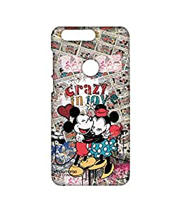 Licensed Disney Minnie Mouse, Mickey Mouse Premium Printed Back cover Case for Huawei Honor 8