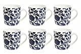 La Platina 6 Pcs Coffee Mug Set (New Bon...