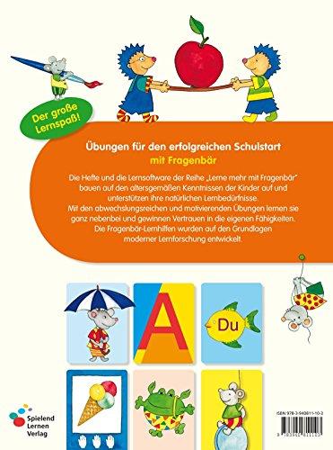 Fragenbär Vorschule: Buchstabenspiele und erstes Schreiben (Lerne mehr mit Fragenbär) - 2