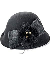 Amazon.es  Fieltro De Lana - Gorro de pescador   Sombreros y gorras ... 036900747a3