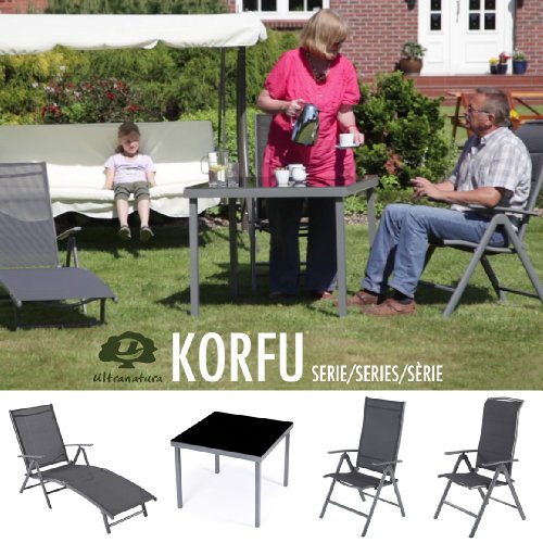 Ultranatura-Fauteuil-pliant-en-aluminium-gamme-Korfu-Plus