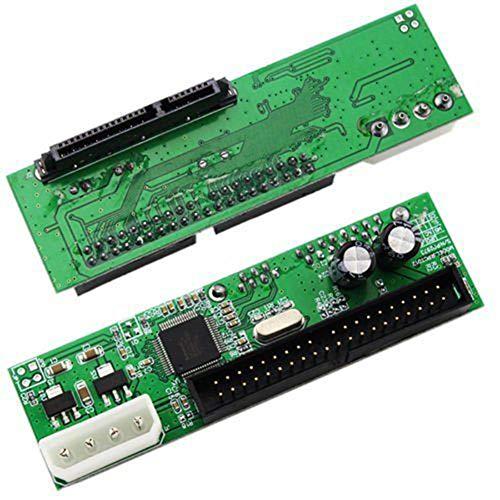 Dandeliondeme PATA IDE auf SATA Festplatten-Adapter Konverter für 8,9 cm (3,5 Zoll) HDD DVD auf Serial ATA 100/133 SATA, 40-poliger IDE-Port - Pata Ata-100