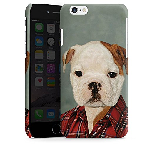 Apple iPhone 5 Housse étui coque protection Chien Chien Bouledogue Cas Premium brillant