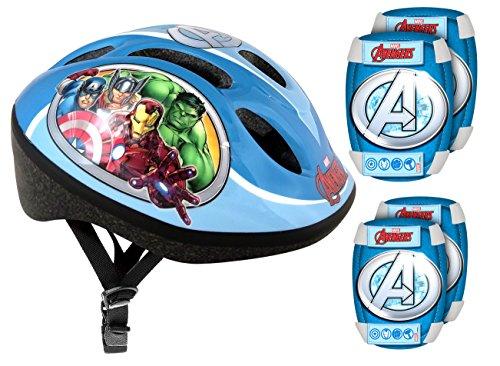 Stamp–Schutz Set Kopfhörer + genouilleres und COUDIERES Fahrrad–Avengers, av299507