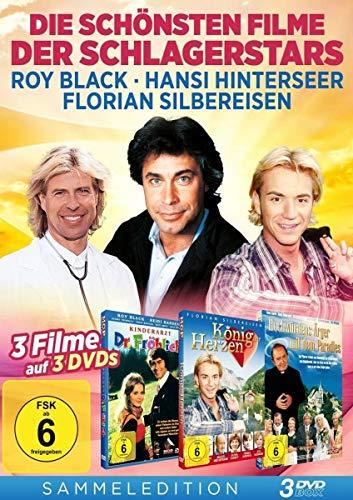 Die schönsten Filme der Schlagerstars [3 DVDs - Kinderartz Dr. Fröhlich, König der Herzen, Hochwürdens Ärger mit dem Paradies -