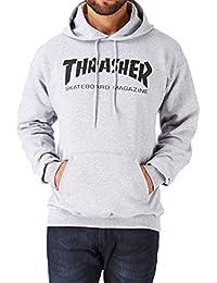 Thrasher - THRASHER SWEAT HOOD SKATE MAG BLACK