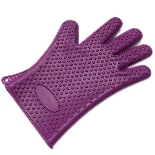 MTTLS Haustier Hund Katze Pflege Handschuhe verhindern Kratzer Entferner Bürste Handschuh effiziente Pflege Healthcare Bad Handschuh (2ST), 3