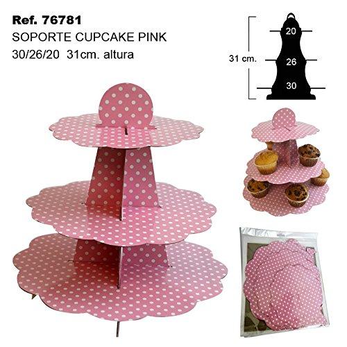 Sini Soporte para Cupcake Pink