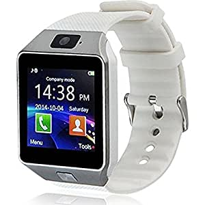 ESTAR Xolo Q1100 COMPATIBLE Bluetooth Smart Watch Phone With Camera and Sim Card Support With Apps like Facebook and WhatsApp Touch Screen Multilanguage Android/IOS Mobile Phone Wrist Watch Phone with activity trackers and fitness band features by Estar