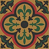 4 Zementfliesen Jamila 447_2 orientalische Fliesen marokkanische Dekorfliesen bunt Mosaik Küche Wohnraum