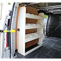Vanify Ford Transit Custom SWB Plywood Racking NS Trasero - Ligero
