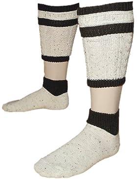 39-48 Trachten-Loferl 2teilig Wadenwärmer Trachtensocken Loiferl Socken Strümpfe
