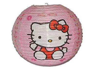Papier Laterne / Lampenschirm Hello Kitty - Katze für Kinder Papierlaterne Laternen Lampion Lampions von Kinder-Land auf Lampenhans.de
