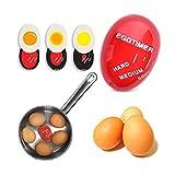 SHOP-STORY - Minuteur Thermomètre à Oeufs – Minutoeuf Egg Perfect Cuisson pour Oeuf à la Coque, Oeufs Mollet, Oeuf Dur
