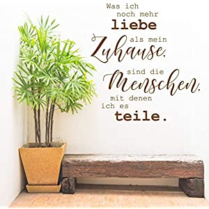 "*NEU* Wandaufkleber Wandtattoo Wandsticker""Liebe – Familie – Zuhause"" (Größen.- und Farbauswahl)"