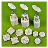 Halbmond Form für drei-Teilen von hand-Wasserdruck von Kuchen Jewellery Ehering 9 Supergirl (Halbmond Form für Kuchen Set 1)