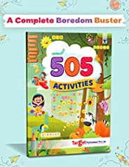 Nurture 505 Activities Book for Kids | English Activity Workbook with various Fun Activities like Art and Craf