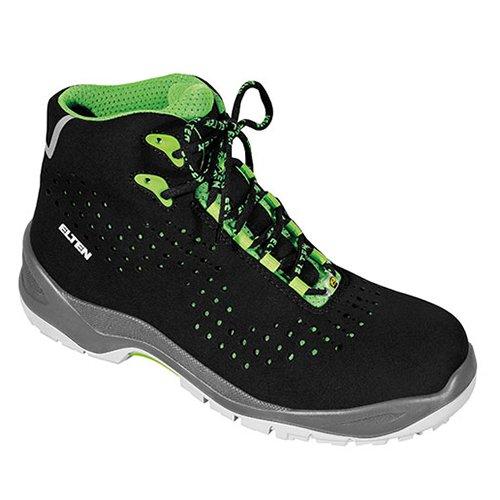 Elten 762551-47 Impulse Green Mid Chaussures de sécurité ESD S1P Taille 47