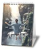 Wochen-Tischkalender 2019 mit Sprüchen - Jede Woche ein neues Motiv - Wochenkalender 2019 A5 - Sprüchekalender 2019 zum Aufstellen - Wochentischkalender - Kalender 2019 - von Sophies Kartenwelt