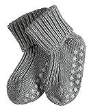 FALKE Babys Socken Catspads Cotton, 96% Baumwolle, 1 Paar, Grau (Light Grey 3400), Größe: 74-80