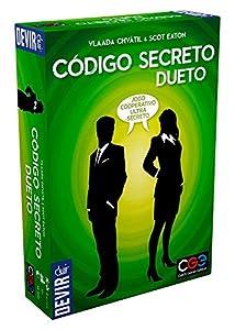 Devir Juego de Estrategia Código Secreto Dueto BGCOSEDPT