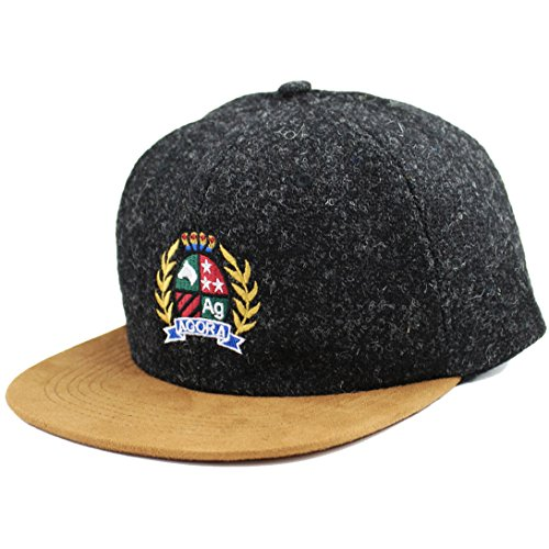 Agora Harris Tweed 6 Panel Casquette