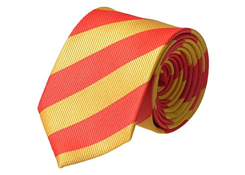 Knight - Mens Striped Tie Various Colours Available