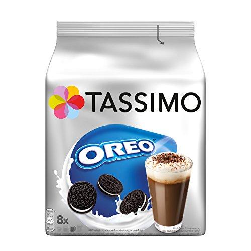 Tassimo Kapseln Oreo, 40 Kakao Kapseln, 5er Pack, 5 x 16 Getränke (Oreo-schokolade)