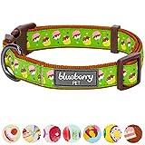 Blueberry Pet Halsbänder für Hunde 2 cm M Törtchen Märchenwochenende Designer Hundehalsband