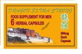 Dragon Extra Strong Herbal Capsules x 6 Male Tonic Aid Performance …