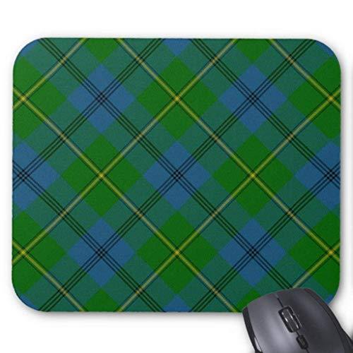 Johnson Family \ Clan Tartan Plaid Mouse Pad 7.08X8.66 inches/18X22 cm -