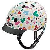 Nutcase Kinder Little Nutty - Happy Hearts Helm Mehrfarbig