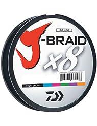Daiwa J-braid 300m 8-strand tissé rond Braid Ligne