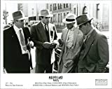 Vintage photo of Relyea (Chris Penn), Coolidge (Chazz Palminteri), Eddi Hall (Michael Madsen) and Hoover (Nick Nolte).