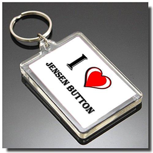 I HEART JENSEN BUTTON SCHLÜSSELANHÄNGER - I LOVE JENSEN BUTTON SCHLÜSSELRING - Jensen Button