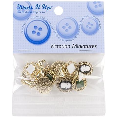 Jesse James 101Dress It Up boutons Victorian miniatures
