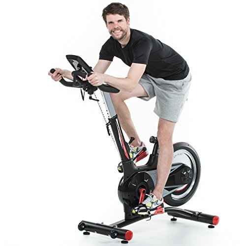 skandika SF-1860 Speed Bike Pro Fortuna, Indoor Cycle Bike mit Bluetooth, 24kg Schwungrad, 150kg Benutzergewicht, Transportrollen und Pulssensoren - 2