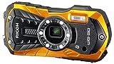 """Ricoh WG-50. Type d'appareil photo: Appareil-photo compact, Mégapixel: 16 MP, Taille du capteur d'image: 1/2.3"""", Type de capteur: CCD (dispositif à transfert de charge), Résolution d'image maximale: 4608 x 3456 pixels. La sensibilité ISO (max): 6400...."""