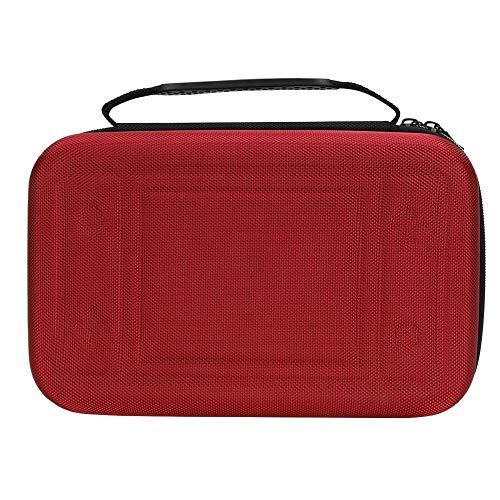 Tragbare Aufbewahrung Tasche Eva Tragetasche Handtasche Spiel Maschine Bag with Karten Steckplatz Schulter Gurt für Nintendo (rot) - Blau Ds Pokemon