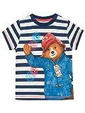 Paddington Bear Camiseta para Niño Multicolor 4-5 Años