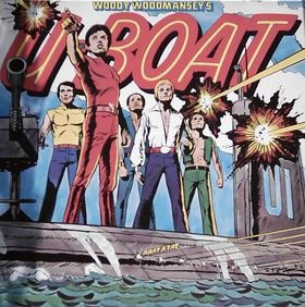 Woody Woodmansey's U-Boat - U-Boat (Vinyl-LP) (Bronze 25 027 XOT) -